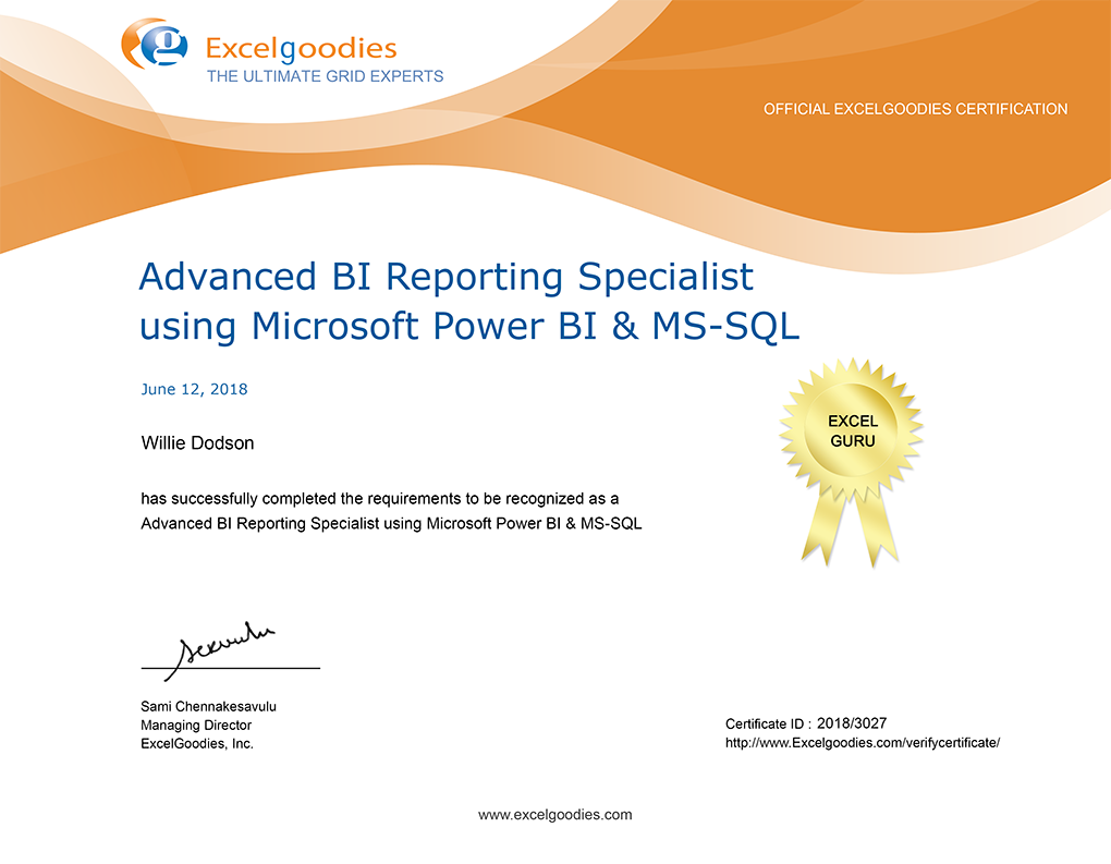 Advanced Excel Training | VBA Macro Training | Excelgoodies
